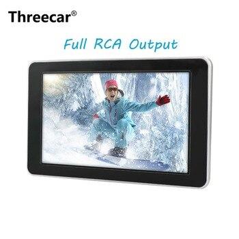 9 Inch TFT Digital LCD Screen Car Headrest DVD Player Touch  Monitor 800*480 with HD  Radio AV monitor for car radio DVD Player