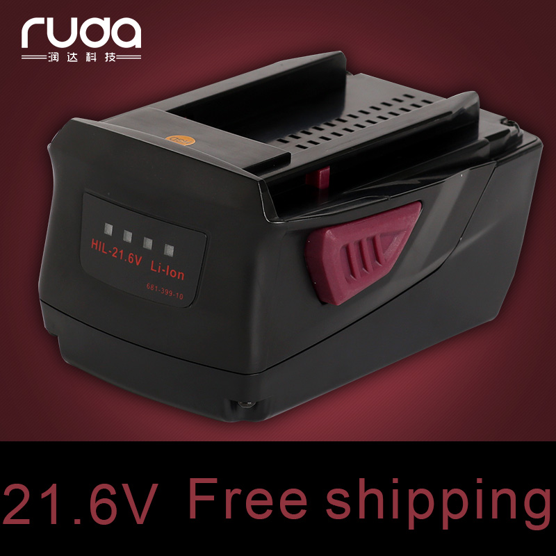 Здесь продается  power tool battery for Hilti 21.6V Li-ion 3.0Ah SD 5000 SD 4500 18-A ST 1800-A22 SF SFH SID 22-A SID 18-A  3000  Бытовая электроника