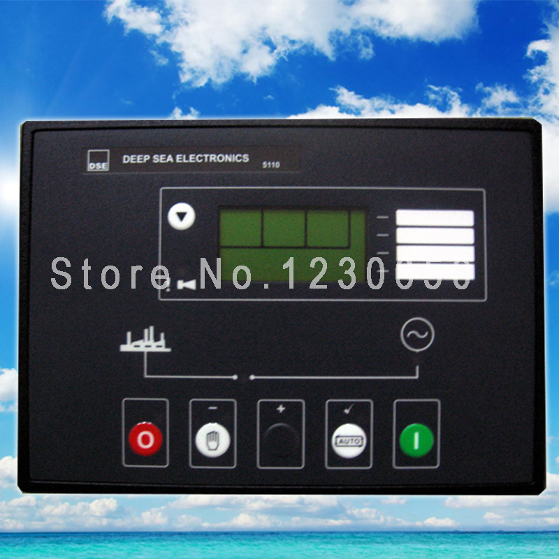 DSE 5110  for Remote Diesel Generator Control unit  AMF DSE5110 Free Shipping free shipping deep sea generator set controller module p5110 generator control panel replace dse5110