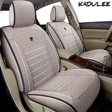 KADULEE flax font b car b font seat cover for ford mondeo mk3 4 s max