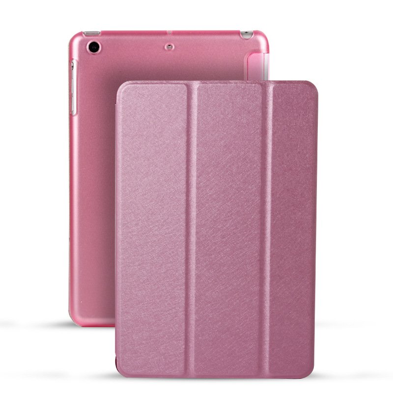 Phone Bags & Cases Realistic Fashion Ultra Slim Flip Smart Silk Texture Back Cover Case For Apple Pad 2 3 4 5 6 Air 1 2 Mini 2 3 4 With Sleep Stand Function