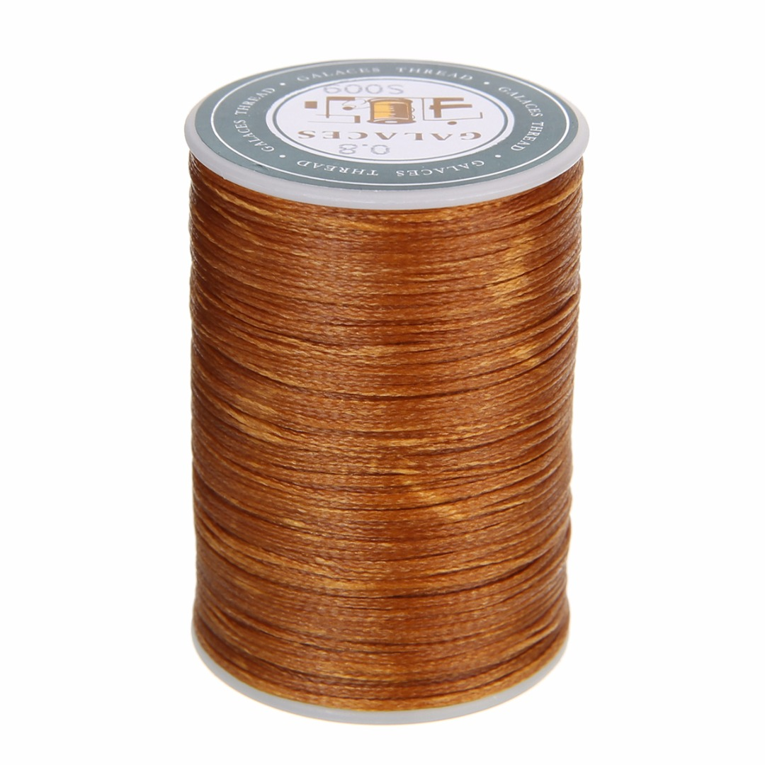 0.8mm Waxed Thread Repair Cord String Sewing Leather Hand Wax Stitching DIY Thread For Case Arts Crafts Mayitr Handicraft Tool