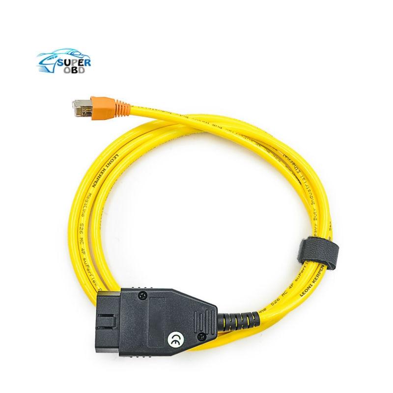 Prix pour 2017 Top-rated ESYS 3.23.4 V50.3 Données Câble Pour bmw ENET Ethernet à OBD OBDII Interface E-SYS ICOM Codage Câble pour F-série