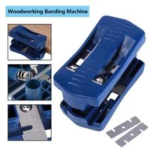 Пластиковый триммер с двойными краями 9,5x4,8 станок для обрезки древесины и хвоста плотник оборудование ручной инструмент для работы по дереву
