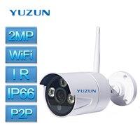 2MP Security Camera Outdoor Waterproof Camera IP66 IP Bullet Camera IR Night Vision Wireless Camera ONVIF