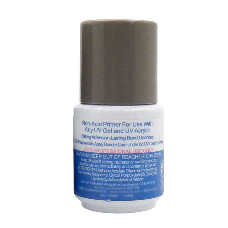 1PCS Bonder gel UV smalto per unghie Chiodo Del led Non acido Primer, base trucco 0.5 once 14ML salon Acrilico della durata di bond inodore Leganti di Base Cappotto 14ML