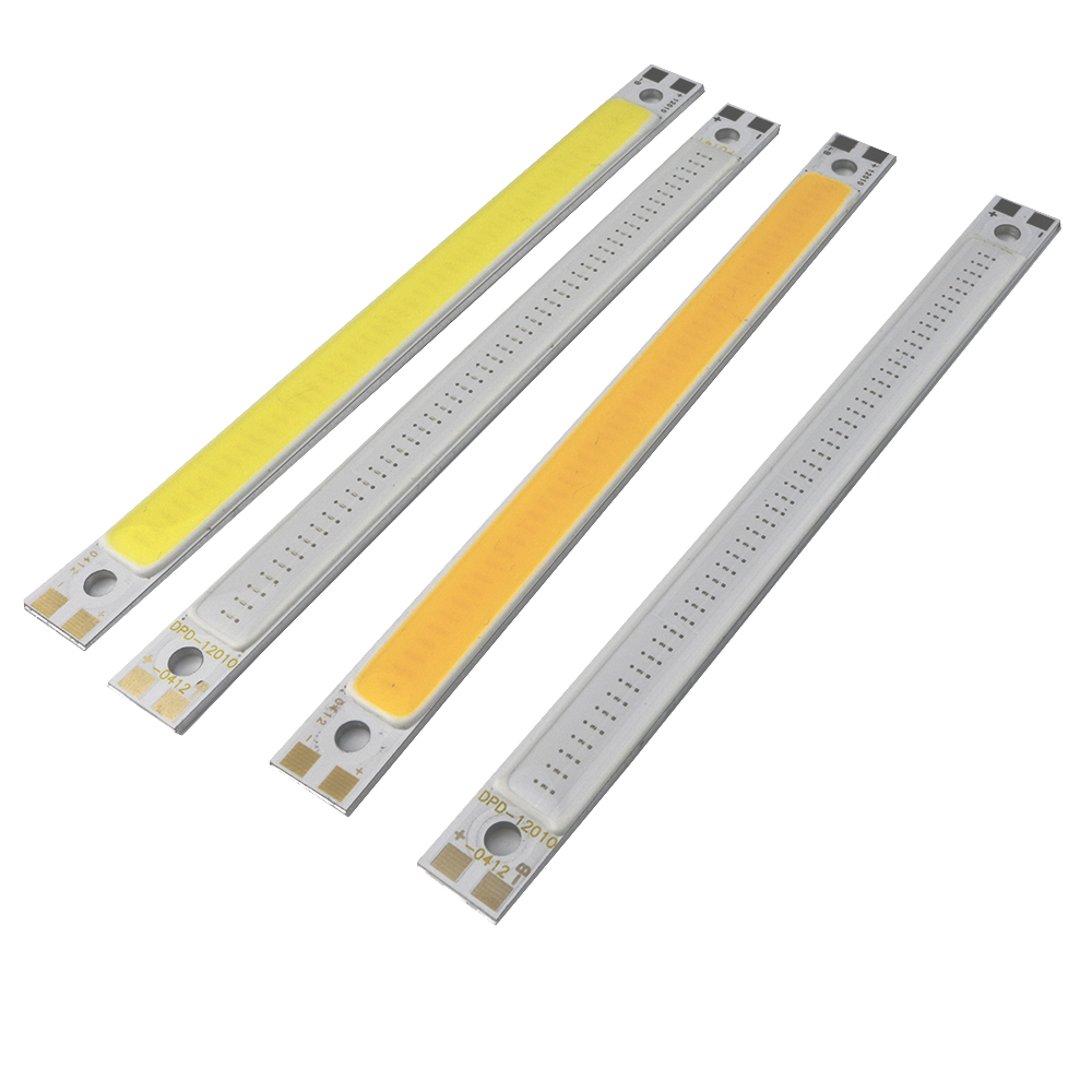10w Cob Led Chips Strip Bar Light Pure White Warm White Blue Red Home Bulb For Diy Car Auto Light Source Drl Lamp Dc12v 1pcs/lot To Win A High Admiration