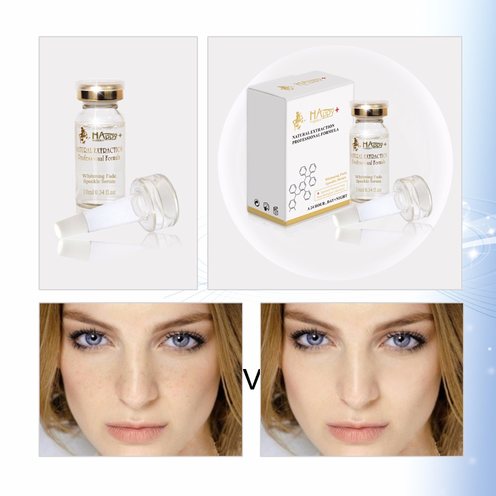 Efficiently Whitening Fade Speckle Serum Removing Freackles And Dark Spot On Face Fade Spots Anti-aging Brightening Essence