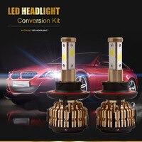 2X Car Headlight H7 H4 LED H8 H11 HB3 9005 HB4 9006 H1 H3 9012 H13