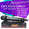 Top Quality! Professional EW135G3 EW 135G3 True Diversity Handheld Wireless Microphone EW100 G3 UHF Wireless Microphone System