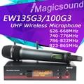 Top Quality! Professional EW135G3 EW 135G3 True Diversity Handheld Wireless Microphone EW100 G3 UHF Wireless Microphone System