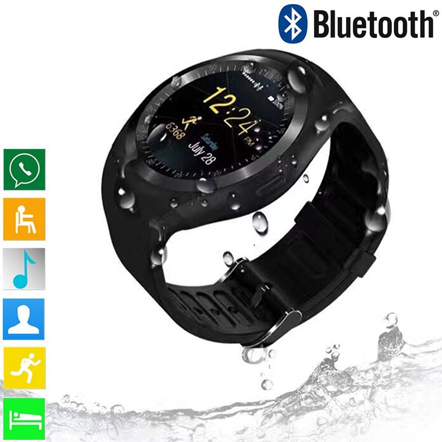 Y1 Smart Watch Support Nano SIM Card and TF Card Smartwatch PK GT08 U8 Wearable Smart Electronics Stock For iOS Android Relogios