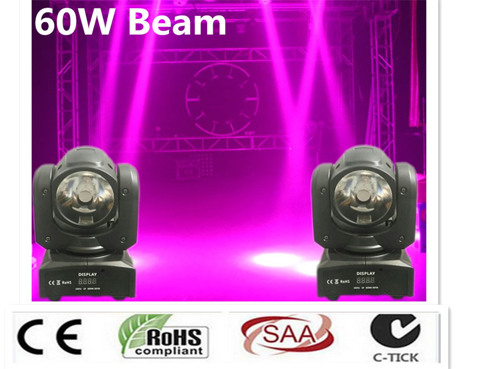 8X mini led moving head 60W RGBW 4in1 beam moving head light beam moving head light super bright LED DJ Wash Light dmx control led dmx mini beam moving head light dj light mobil light 7x12w rgb led beam moving head with 16 channels
