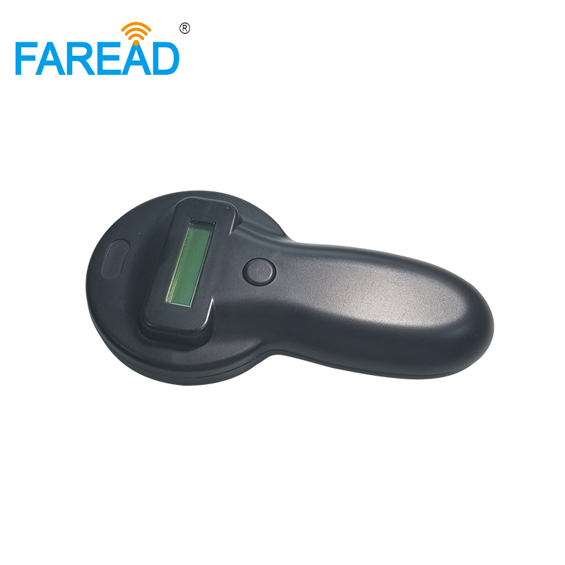 RFID Animal Microchip Reader FDX-A/FDX-B/HDX Standards 125khz/134.2KHz Ear Tag Glass Chip Handheld Vets Dog Pet ID Scanner