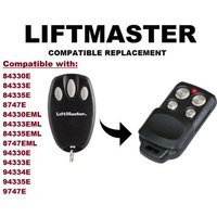 Chamberlain Liftmaster Motorlift 94335E Compatible Replacement Remote Control