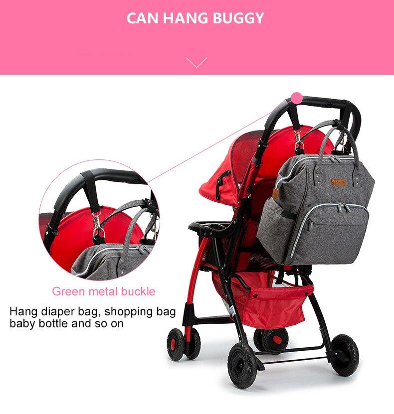 HTB19H2bgS I8KJjy0Foq6yFnVXaT 23 Colors Fashion Mummy Maternity Nappy Bag Large Capacity Baby Diaper Bag Travel Backpack Designer Nursing Bag for Baby Care