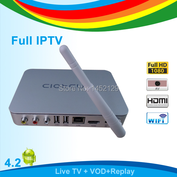 Japanese Rainbow IPTV Box HDTV Japanese support 7 Days Replay and Preview Programs