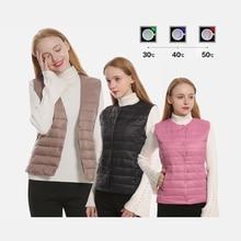 electrical heated vest  tactical vest usb heater Women