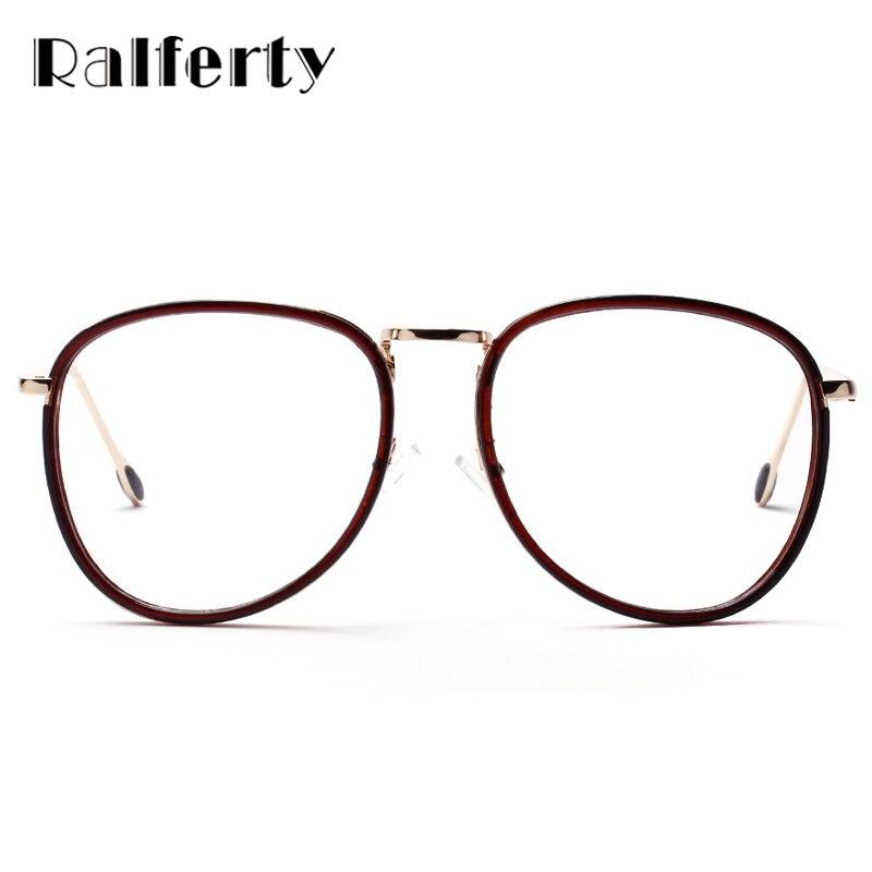 Ralferty oversized Gafas Marcos mujeres óptico grande Marcos retro ...
