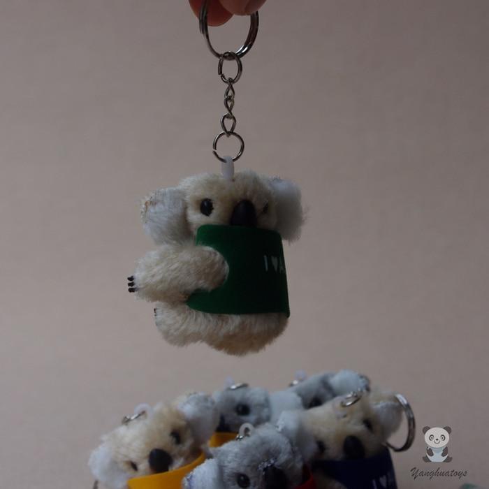 Plush Leksaker Mini Koalas Nyckelkedja Hängsmycke Fyllda Toy Presenter