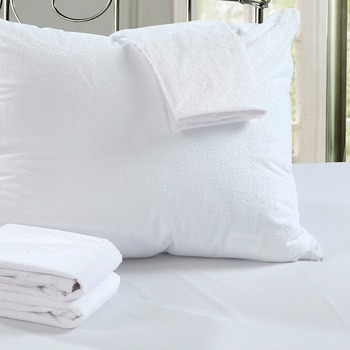 Set Of 40 40X40CM Cotton Terry Waterproof Pillow Protector Dust Mite Magnificent Allergy Pillow Covers Ratings