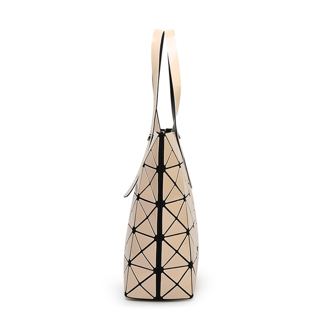 2017 Japan Style Folding Lucent Prism Rock Tote Handbag 9 Colors Luxury Holographic Laser Women Shopper Bao Shoulder Bags