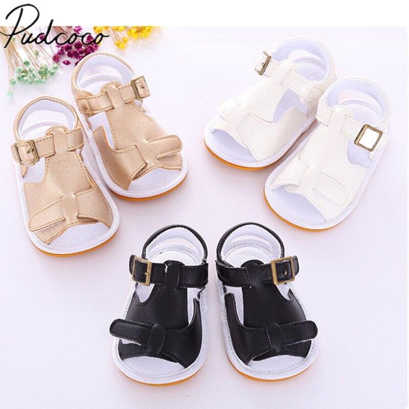 2018 Marke Neue Neugeborenen Baby Mädchen Jungen Sommer Casual Sandale Schuhe Solide Baumwolle Aktive Schuhe Outfit 0-18 Mt 3 Stil
