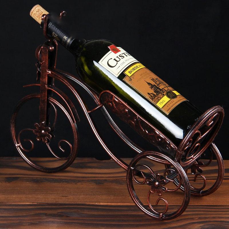 Expressief Europese Stijl Wijnrek Wijnkast Display Stand Woondecoratie Wijnrek Creatieve Moderne Wijnrek C 50% Korting