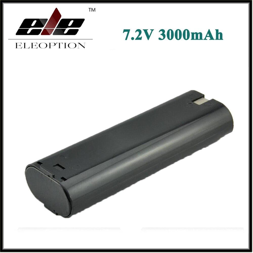 Eleoption 3000mAh 7.2V Ni-MH Battery For MAKITA 7000 7002 632002-4 191679-9 192532-2 eleoption high quality 12v 3000mah ni mh battery for makita 1234 1235 1235f 193138 9 192698 a