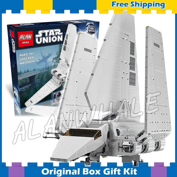 2503pcs Star Wars Universe New 05034 Imperial Shuttle Model Building Blocks Kit Gifts Boys Toys Compatible with Lego gipfel indigent 2503