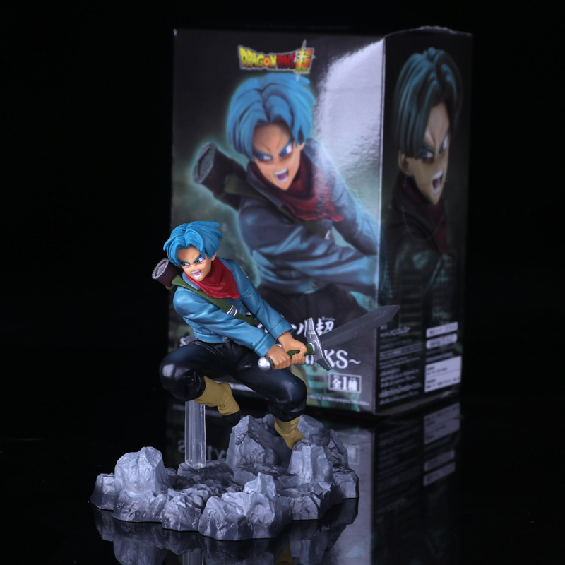 Anime Dragon Ball Z Super Soul X Son Action Figure – Trunks Black Goku | 3 Types