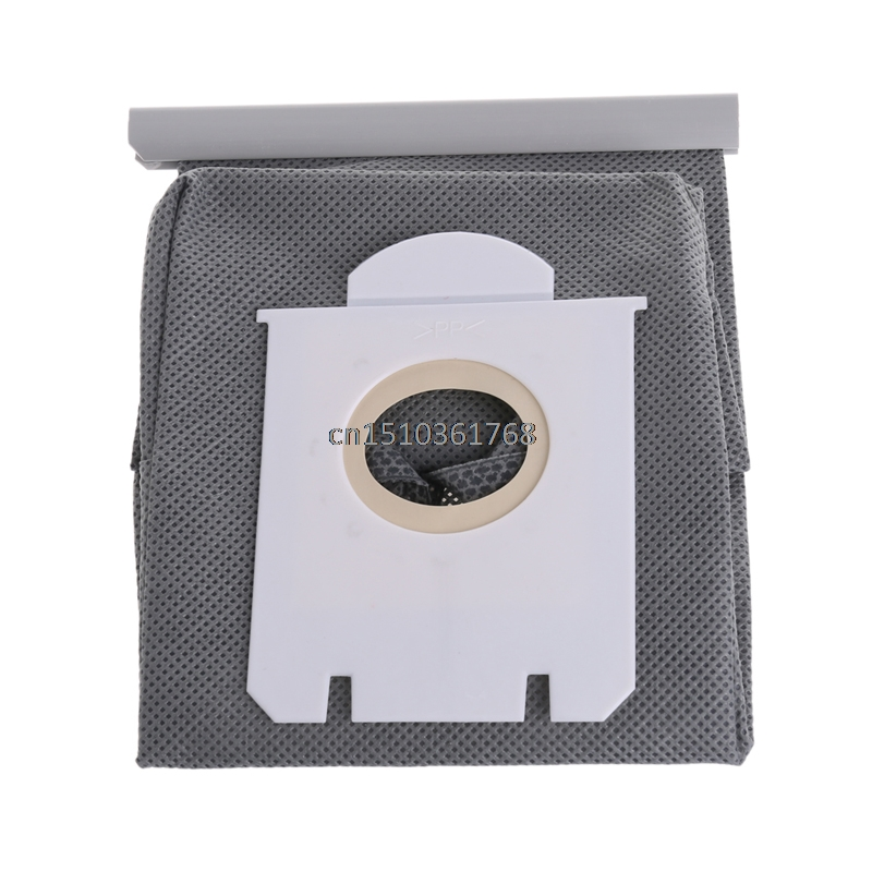 Vacuum Cleaner Bags Dust Bag Replacement For Philips FC8613 FC8614 FC8220 FC8222 #Y05# #C05# 10pcs washable vacuum cleaner bags dust bag replacement for philips fc8134 fc8613 fc8614 fc8220 fc8222 fc8224 fc8200 free post