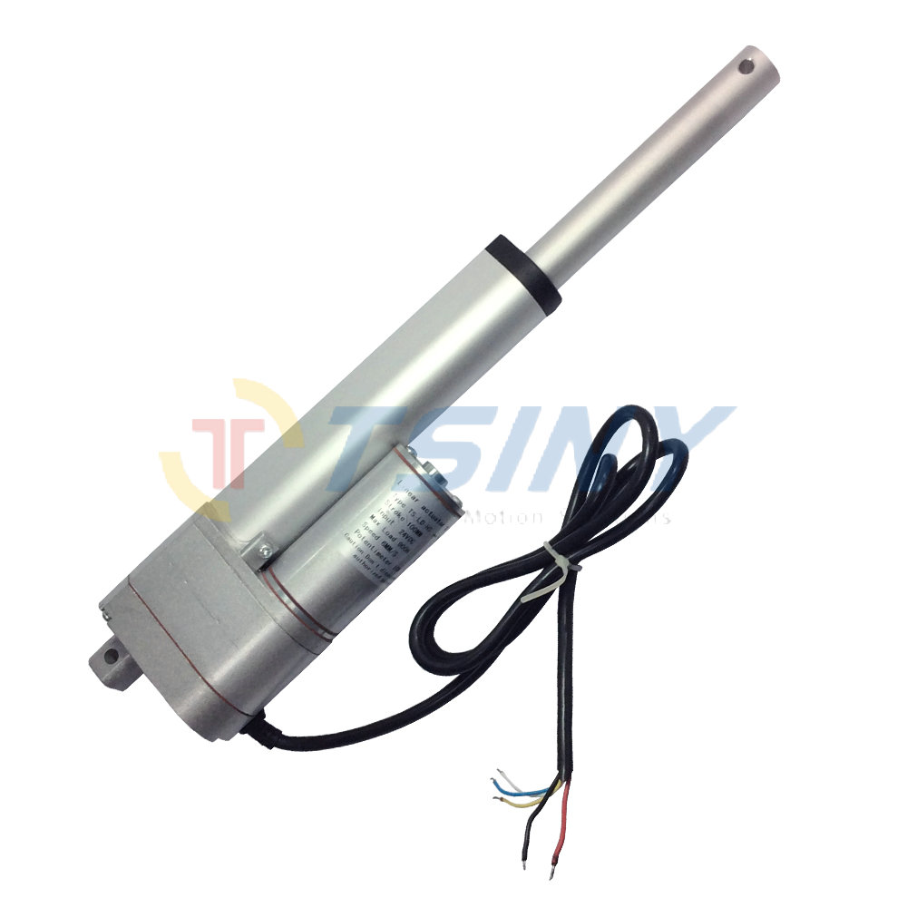 24Vdc 100mm/4 stroke/10K Electric Linear Actuator motor with Potentiometer feedback часы слава 1249422 300 2428
