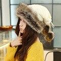 Женщины взрослых твердые повседневная мех хлопок вязание бархатная шляпа теплый шарф кольцо крышки принцесса творческий шапочка коренастый багги