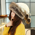 women adult solid casual  fur cotton knitting velvet hat warm fashion scarf ring cap princess creative beanie chunky baggy