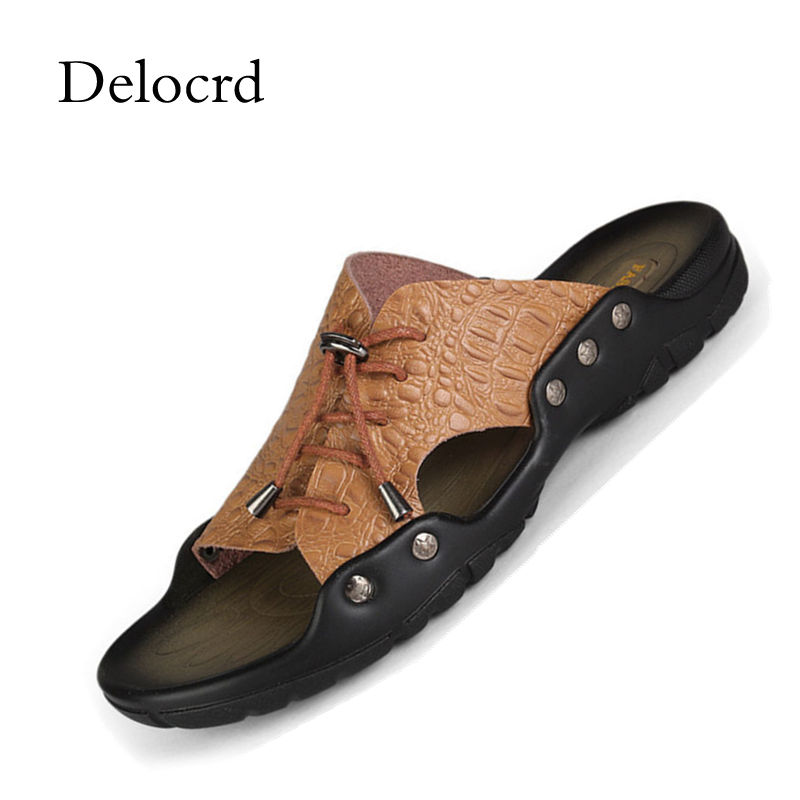 Herrenschuhe Schuhe GüNstig Einkaufen Neue Sandalen Männer Gladitor Outdoor Hausschuhe Meer Rutschen Maultiere Sommer Schuhe Clogs Strand Flip-flops Pu Leder Schuhe Zapatos Hombre
