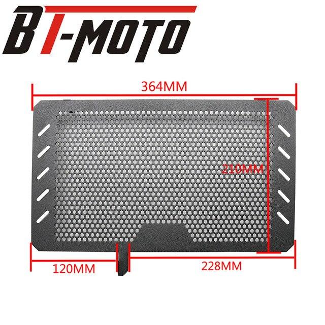Motor de la motocicleta radiador bisel cubierta protectora para parrilla de parrilla para SUZUKI V-STROM VSTROM DL650 DL 650