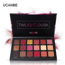 18 Colors Matte Eyeshadow Makeup Palette Shimmer Pigmented Nude Waterproof Eyeshadows Maquillage Yeux