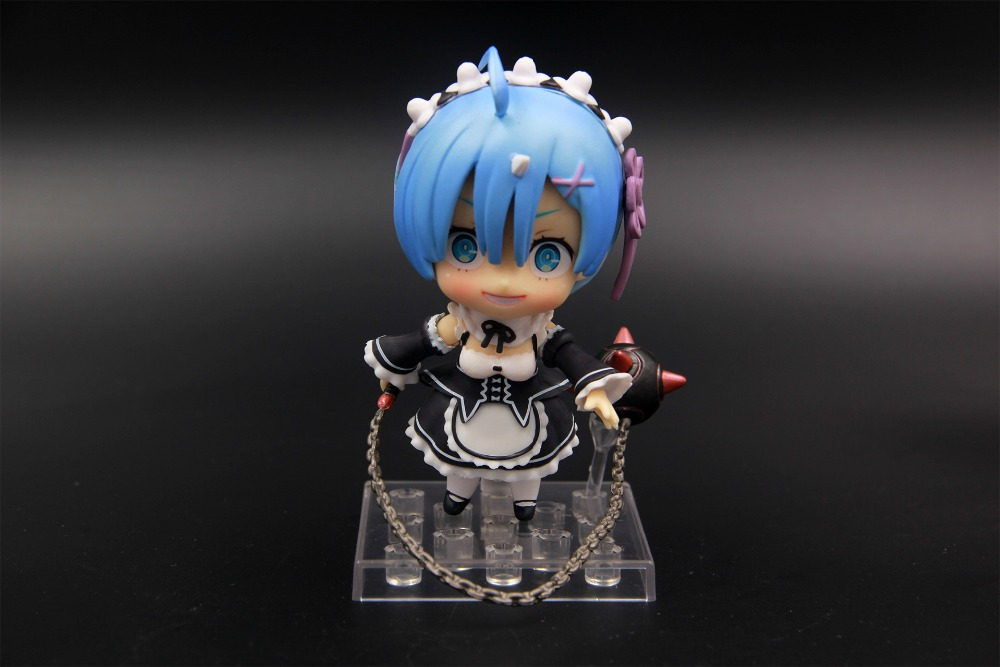 Rem Re:Life In A Different World From Zero Action Figure Nendoroid 10CM PVC Anime Figure Collectible Model Toys brinquedos anime figure re life in a different world from zero rem maid ver pvc action figure collectible model toys doll 17cm