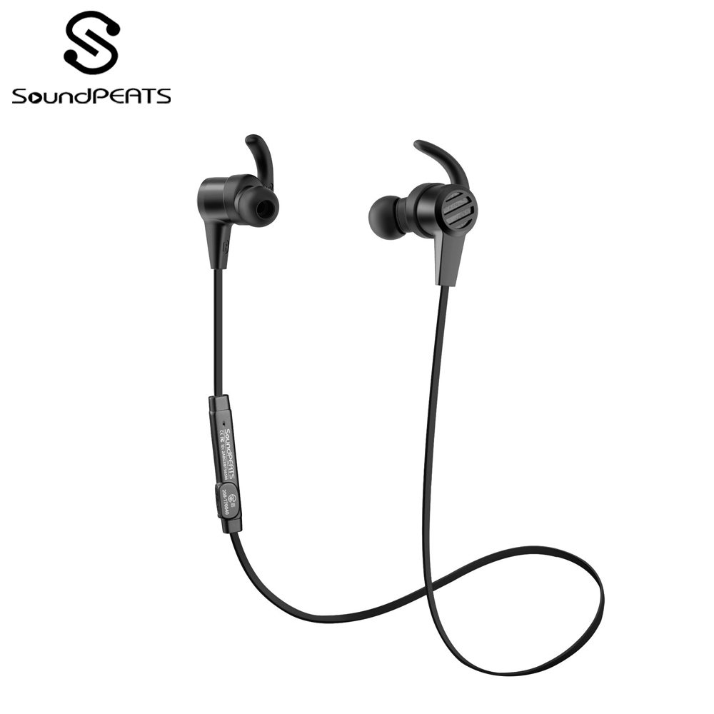 SoundPEATS Super Sound Quality Bluetooth 4.1 Magnetic Wireless Bluetooth In-Ear Earphones with 8 Hours Playing time and MIC Q36SoundPEATS Super Sound Quality Bluetooth 4.1 Magnetic Wireless Bluetooth In-Ear Earphones with 8 Hours Playing time and MIC Q36