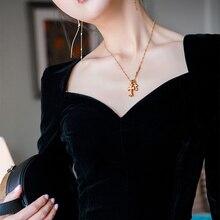 30-Ретро стиль 50-х, бархатный вырез в форме сердца Топ черного цвета корена стиль элегантная Облегающая рубашка размера плюс Блузы