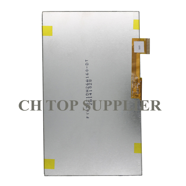 100% New 7Inch 163*97mm 30Pin 1024 * 600 LCD Display Screen for Philco Tp7a1l Tablet LCDs Screen LCD Panels
