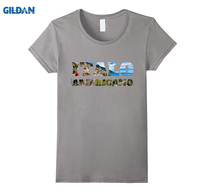 GILDAN Italo Americano Italy T-Shirt 4 Italian sunglasses women T-shirt