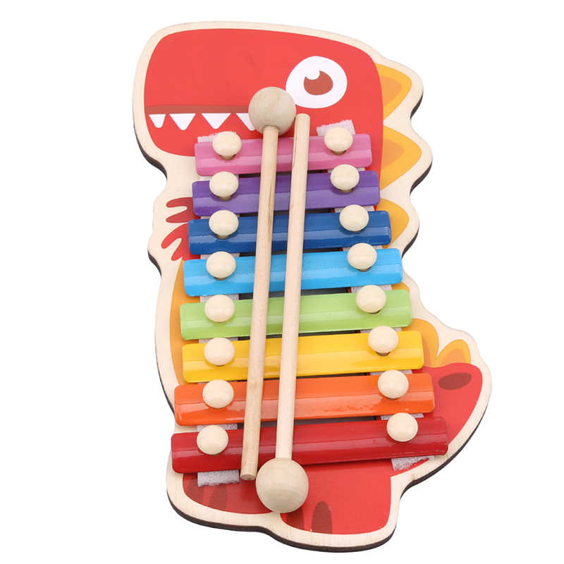 New Baby Animal Xylophon Toys Children Early Musical Instrument Hand knock Music Instruments Piano Baby Educational Toys Gift