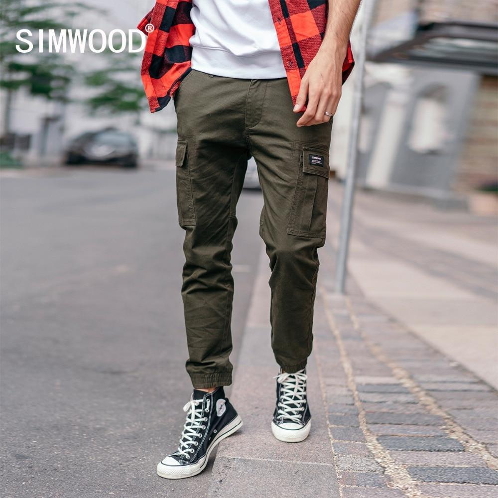 Men pants plus size 4XL 5XL 6XL 7XL 8XL Korean style 2019 Spring and autumn black