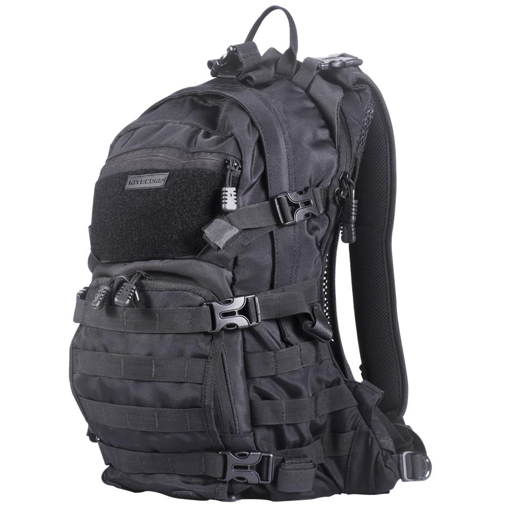 NITECORE BP20 Multi purpose backpack 20 Liters wear proof 1000D nylon fabric Tactical Side Tools Bag