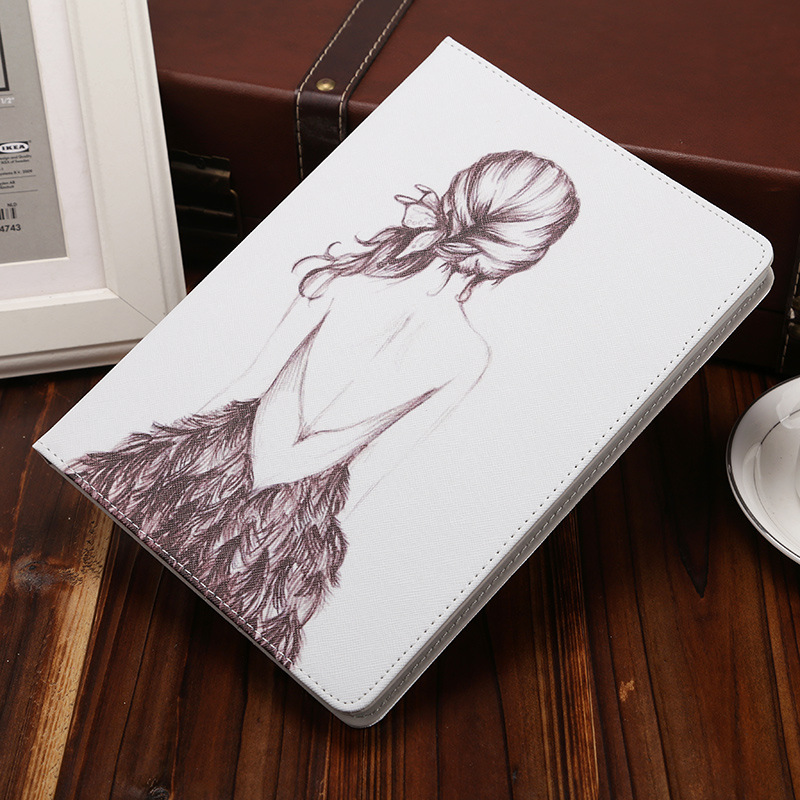 Case For Apple iPad Mini 1 2 3 Cartoon Protective Case with Smart Sleep & Wake Up 7.9 Inch Anti-drop Cover Shell for iPad Mini 3