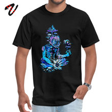 Tired Mens Tshirt Gremlins Funny Top T-shirts Master of the Rubix Cube Crazy T Shirt Fitted O-Neck Drop Shipping