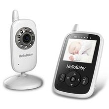 2.4 Inch Hello Baby Wireless Video Monitor with Night Vision & 2 Ways Talking, Rechargeable Battery,Temperature Mnitoring