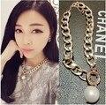 N232 Модные Ожерелья Для Женщин 2016 Подарок CCB Цепи Заявление имитация ожерелья & Подвески Женщины Ювелирные Изделия Оптом
